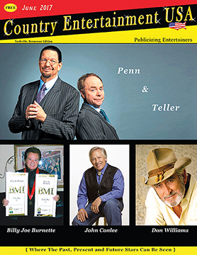Country Entertainment USA Magazine, June Issue, Nashville, Tennessee Edition